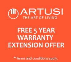 Artusi 5 Year Extended Warranty Offer