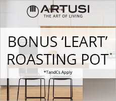 Artusi Bonus 'LEART' Roasting Pot Offer