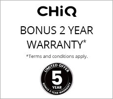 Bonus 2 Year Warranty on selected CHiQ Appliances