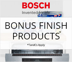 Bonus Finish Products with Bosch Dishwashing