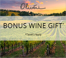 Bonus Wine Gift Offer with Oliveri