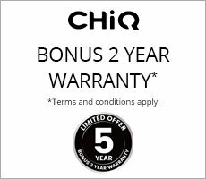 Chiq Bonus Warranty Offer