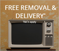 Free Delivery & Removal when you purchase a New TV*
