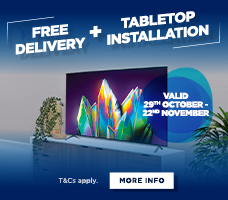 Free Delivery and Tabletop Installation Offer