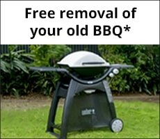 Free removal of your old BBQ