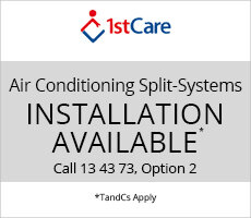 Installation available with 1stCare*
