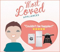 Valentines Day - Most Loved Appliances