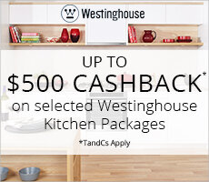 Westinghouse Kitchen Cashback Offer